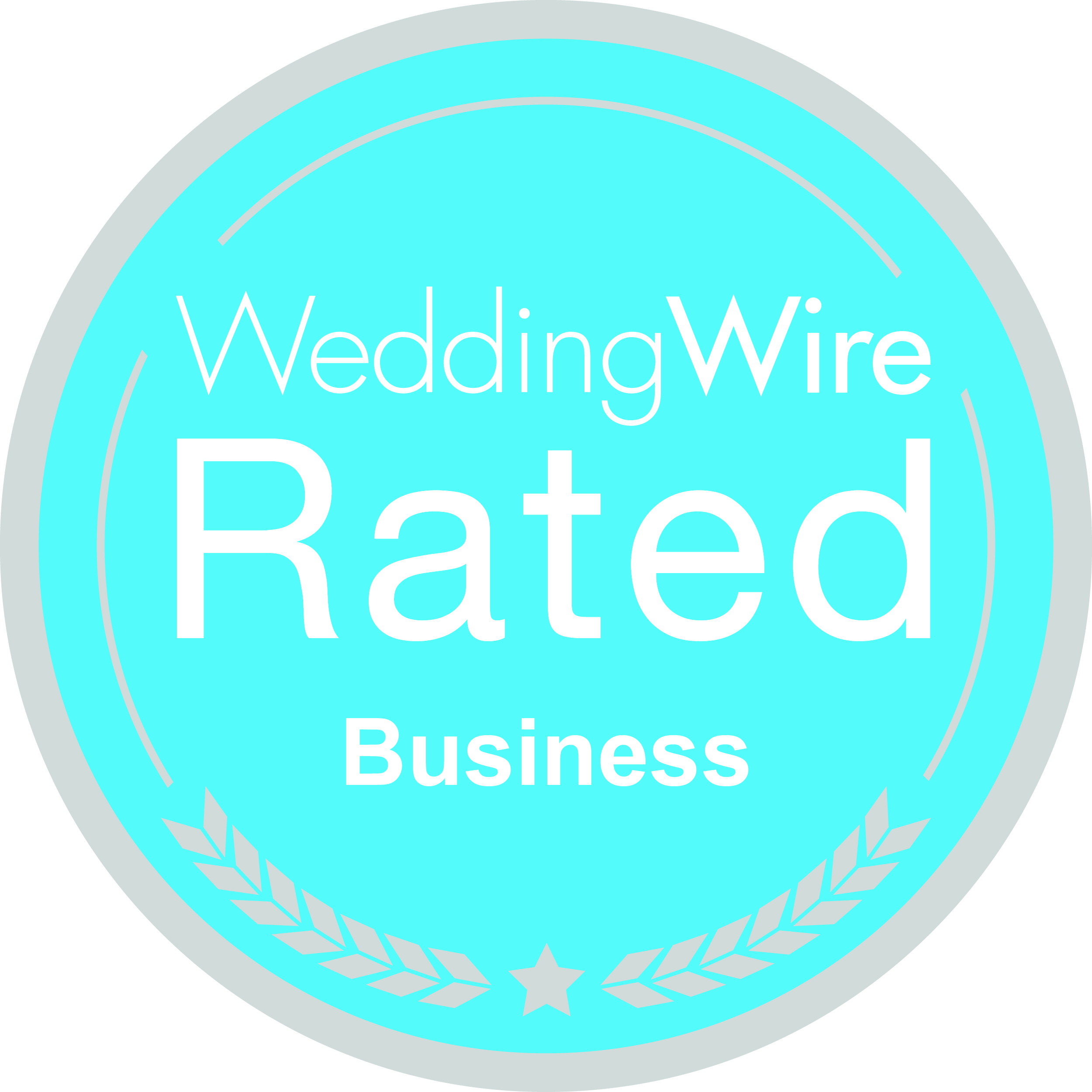 WeddingWire-Rated-Silver-Business